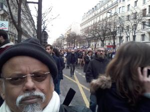 Unity March, Paris