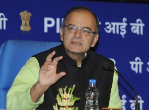 Union Minister for Finance, Corporate Affairs and Information & Broadcasting Arun Jaitley addressing at the inaugural session of the workshop on streamlining government communication, in New Delhi on February 02