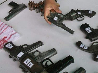 illegal arms manufacturing (file photo)
