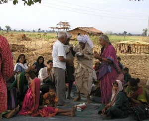 NBA leader Medha Patkar   campaigns for Tribals' land rights (Representative Photo-May 2004)