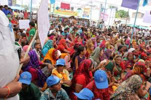 Narmada Valley project affected people (representative photo)