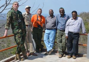 Team Members of Tiger Watch Programme with PTR Officers