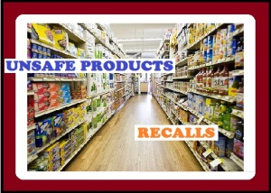 unsafe products recalls