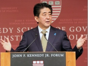 Japanese prime Minister Shinzo Abe (representative photo)