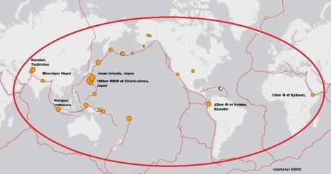 earthquake and tremors 30 may