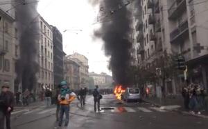 Milan riot