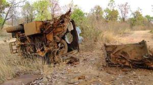 naxalite landmine blast in Bastar region (representative photo)