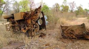 naxalite landmine blast in Bastar region (representative photo)