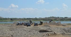 SSP area-sand mining
