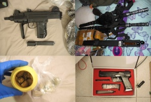 drugs illagal weapons