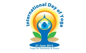 internatuional day of yoga logo