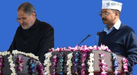 Najeeb Jung-Arvind Kejriwal