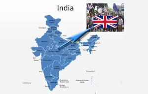 union jack in Central India