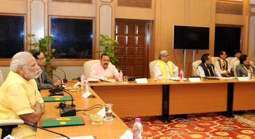 Modi-north-east Chief Ministers