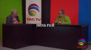 "Tarek Fatah, author of ""The Hindu is Not My Enemy"" CLICK FOR INTERVIEW"