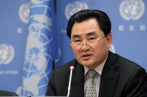 North Korea's deputy representative to the United Nations, Ambassador An Myong Hun