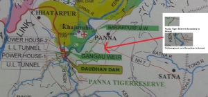 Only a small part of Panna Tiger Reserve would come under submrgence