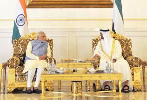Modi in Abu Dhabi