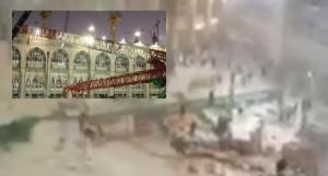 disastrous crane crash in Mecca