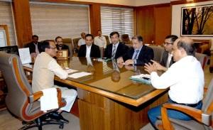 MP Chief Minister Shivraj meets investors