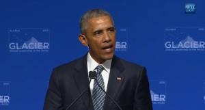 President Obama addresses Glacier Conference