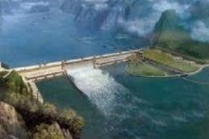 China's hydropower station in tibet