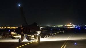 french jets bomb syria