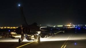 french jets bomb syria