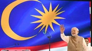 modi in malaysia