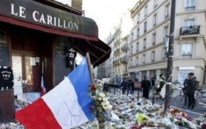 paris tributes