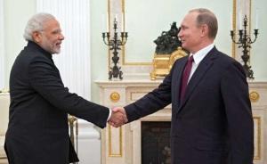 Modi-Putin in Moscow