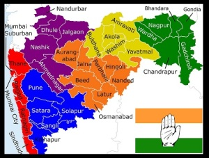 Maharashtra polls congress leads