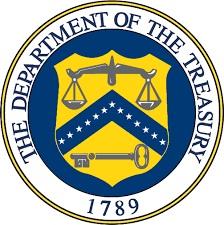 treasury dept US