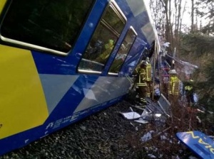 German train crash images