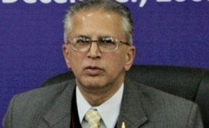Former Union Home Secretary G.K. Pillai