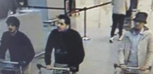Brussels attack suicide bombers and third suspect