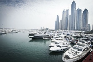 dubai water front