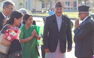 Sushma Saraj_Pokhara