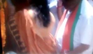 Babulal Gaur-inappropriate act