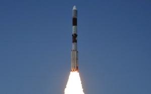 PSLV-C33 Lift off