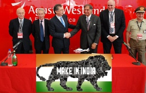 AgustaWestland will build AW119 helicopters in India under a joint venture with Tata Sons