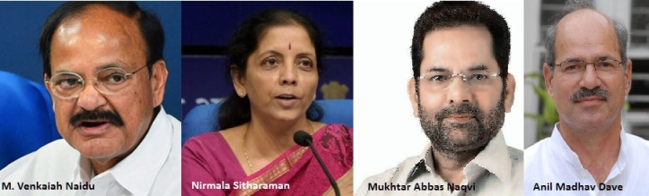 BJP candidates for RS