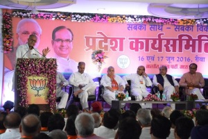 MP BJP executive meeting