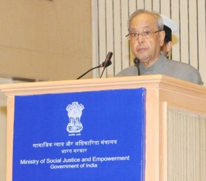 President of India Pranab Mukherjee
