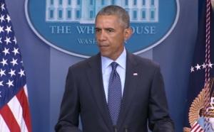 The US President Barack Obama speaks on tragic shootout at Orlando in Florida, USA