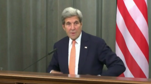 John Kerry in Moscow