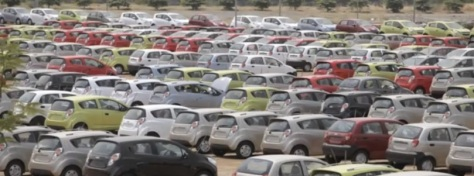 car exports-Mumbai port
