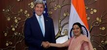 Sushma Swaraj-John Kerry