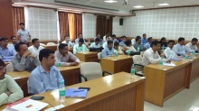 Officers from All India Services attending the 91st Foundation Course in Bhopal on 7 September, 2016
