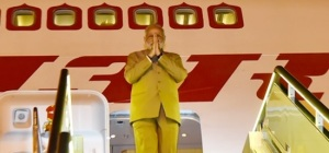 Prime Minister Narendra Modi departs from Hangzhou on conclusion of his visit to China